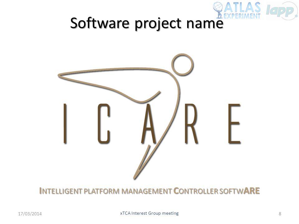 Software project name Intelligent platform management Controller softwARE.