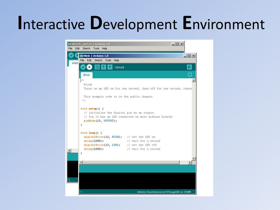 Interactive Development Environment