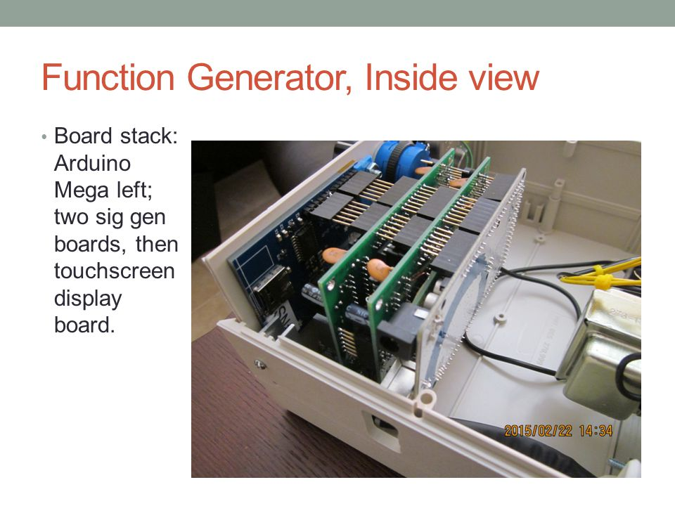 Function Generator, Inside view