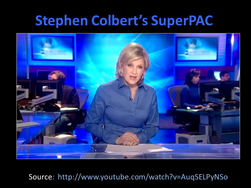 Stephen Colbert's SuperPAC