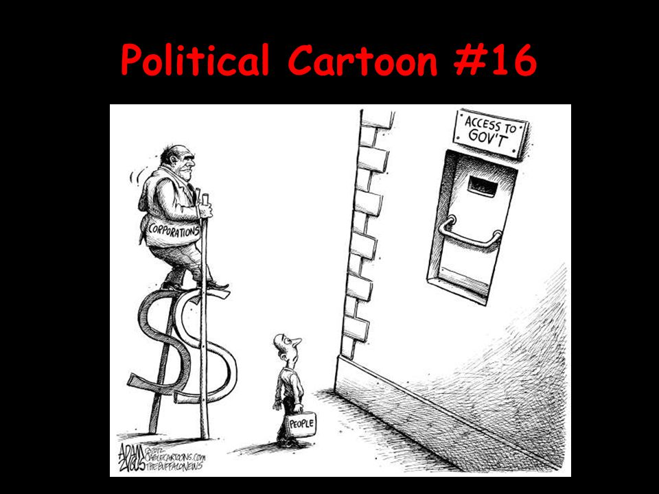 Political Cartoon #16