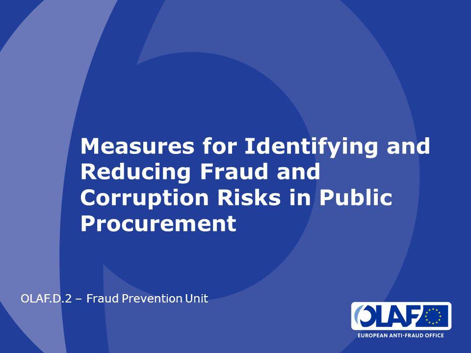 OLAF.D.2 – Fraud Prevention Unit