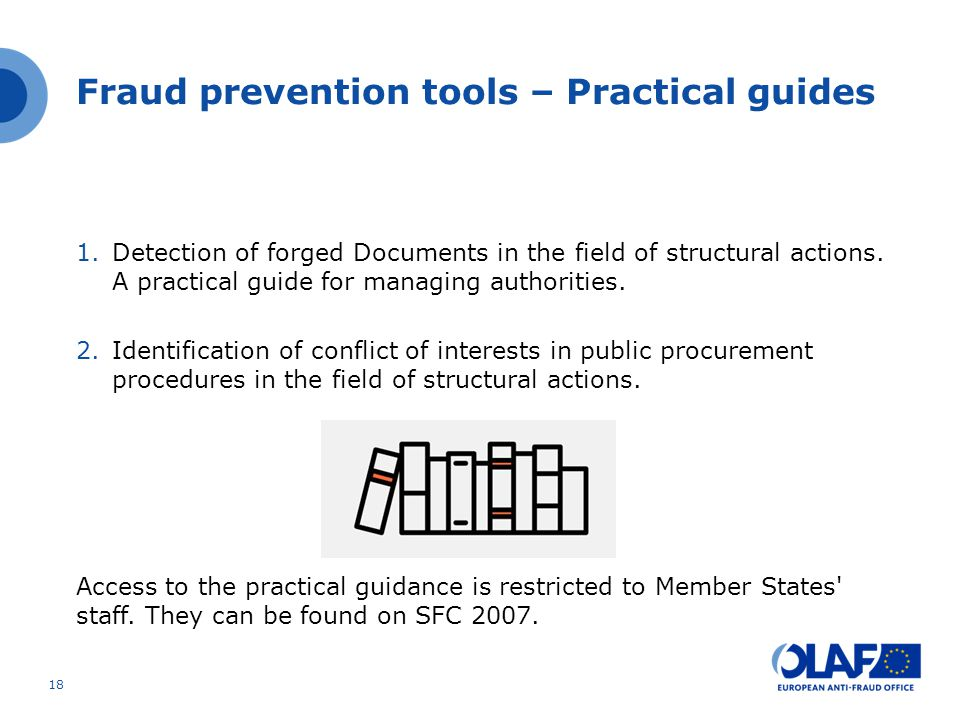 Fraud prevention tools – Practical guides