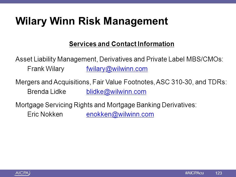Wilary Winn Risk Management