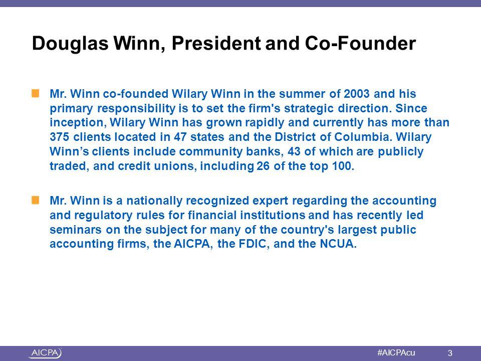 Douglas Winn, President and Co-Founder
