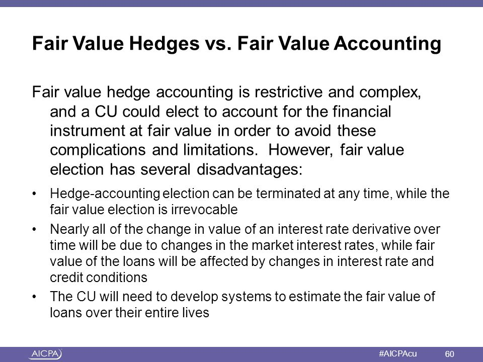 fair value accounting for the financial In analysing the financial crisis, many commentators have attributed blame to fair value accounting (fva) because of the pro-cyclical effect it potentially.