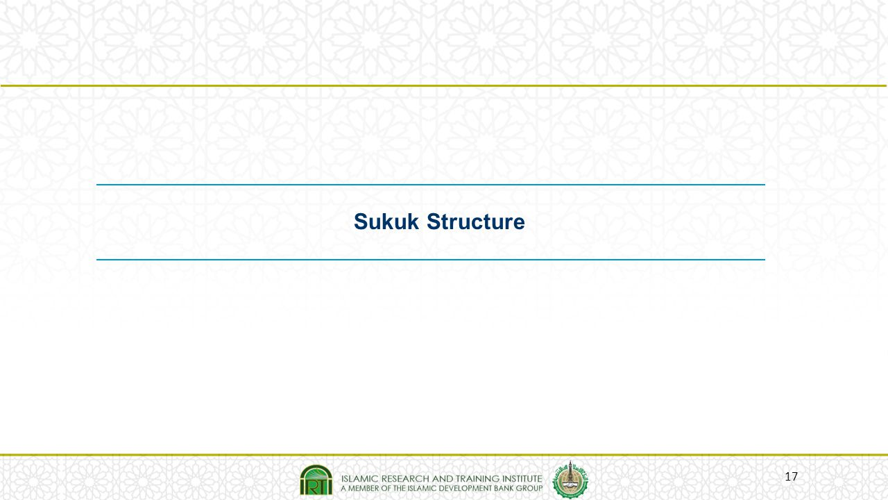 Sukuk Structure