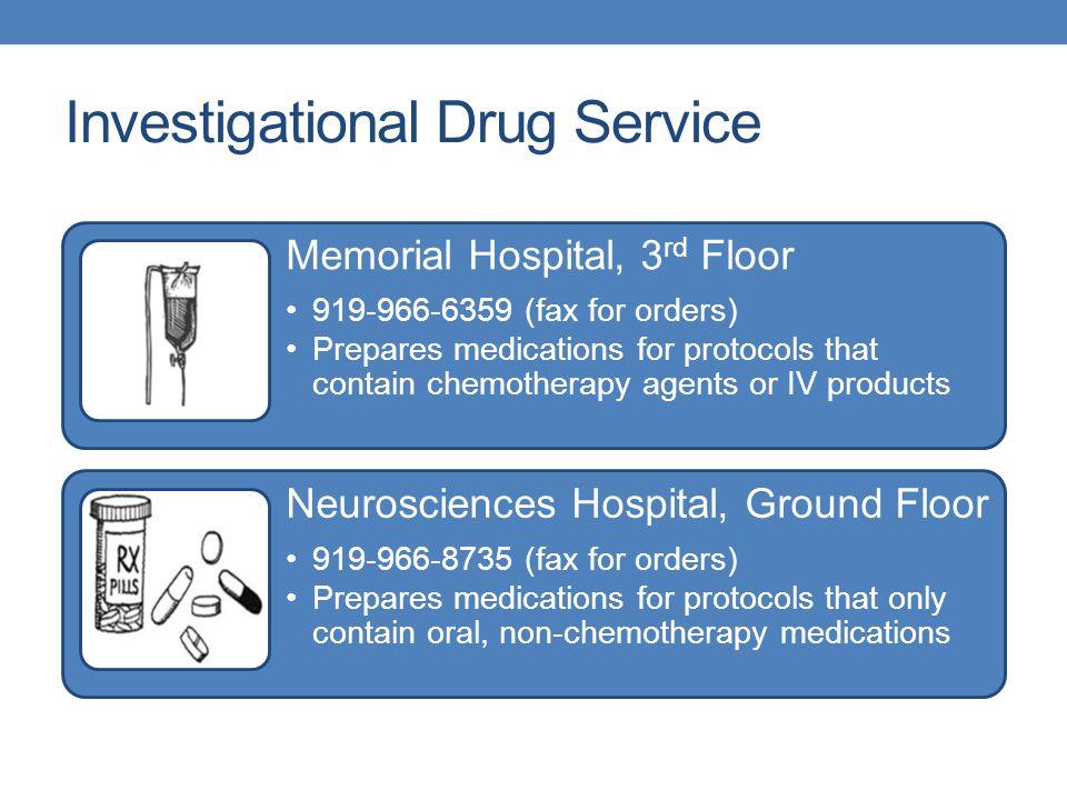 Investigational Drug Service