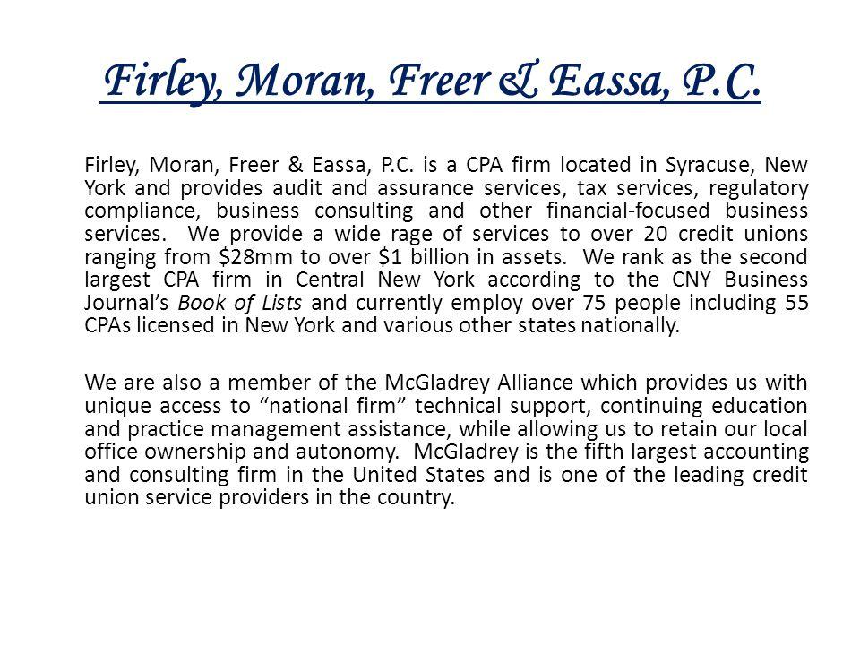 Firley, Moran, Freer & Eassa, P.C.