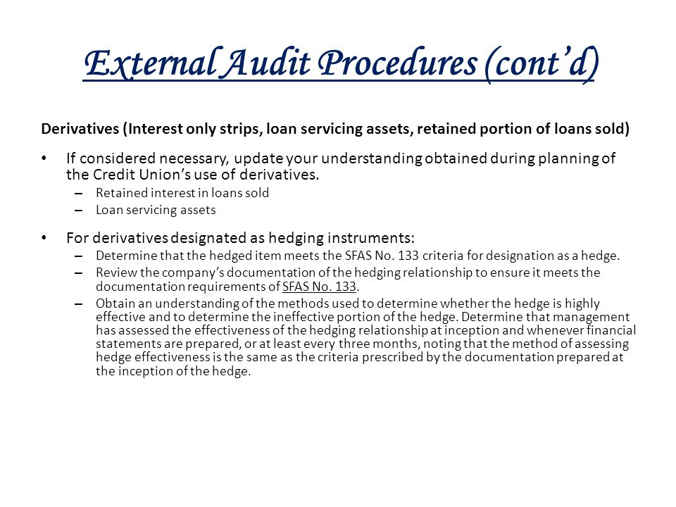 Auditing As An Instrument For Ensuring Accountability