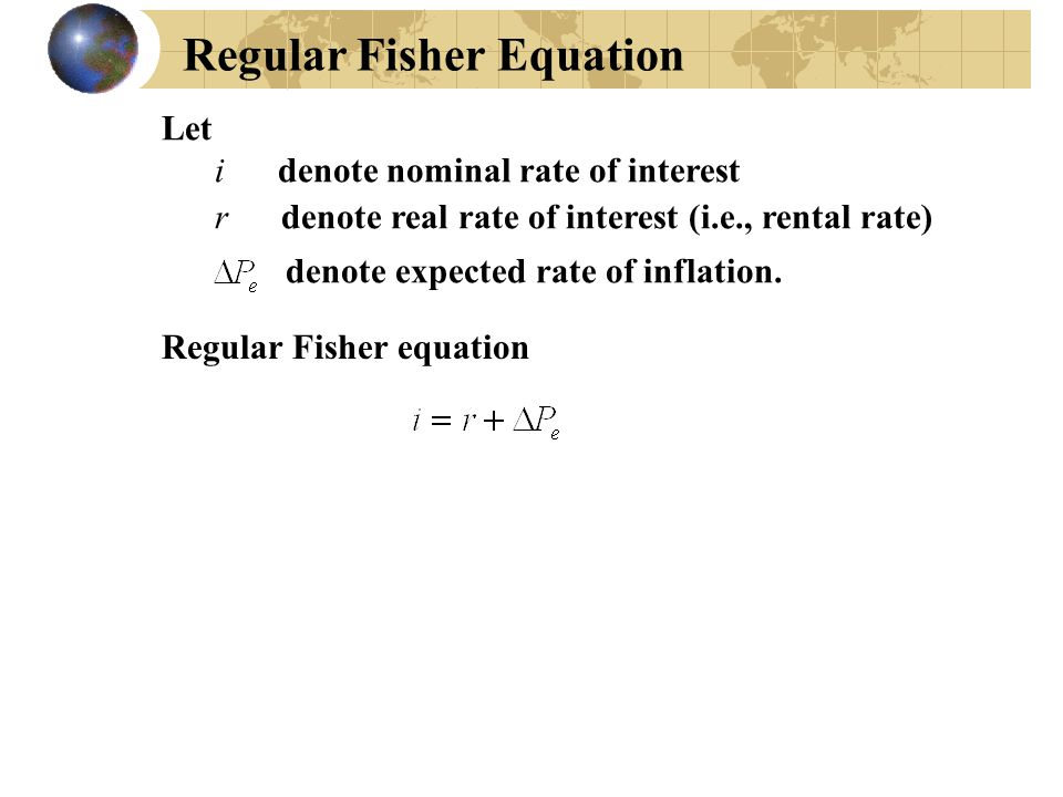 Regular Fisher Equation