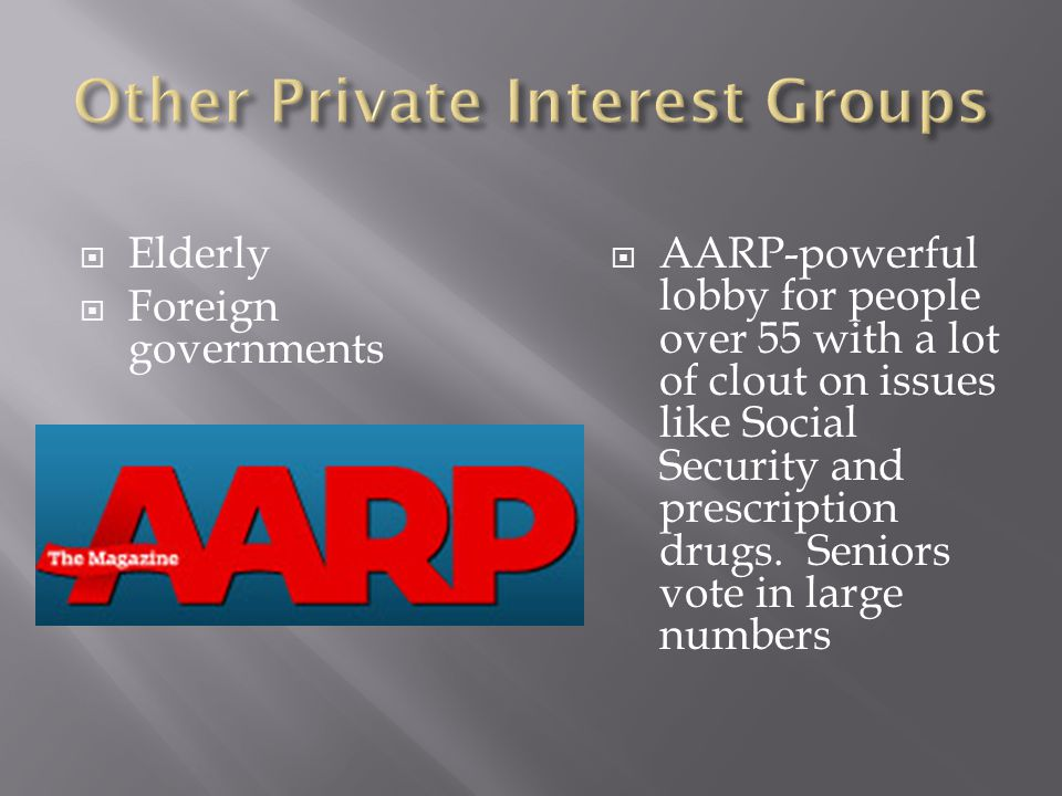 Other Private Interest Groups