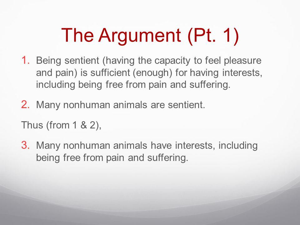 The Argument (Pt. 1)