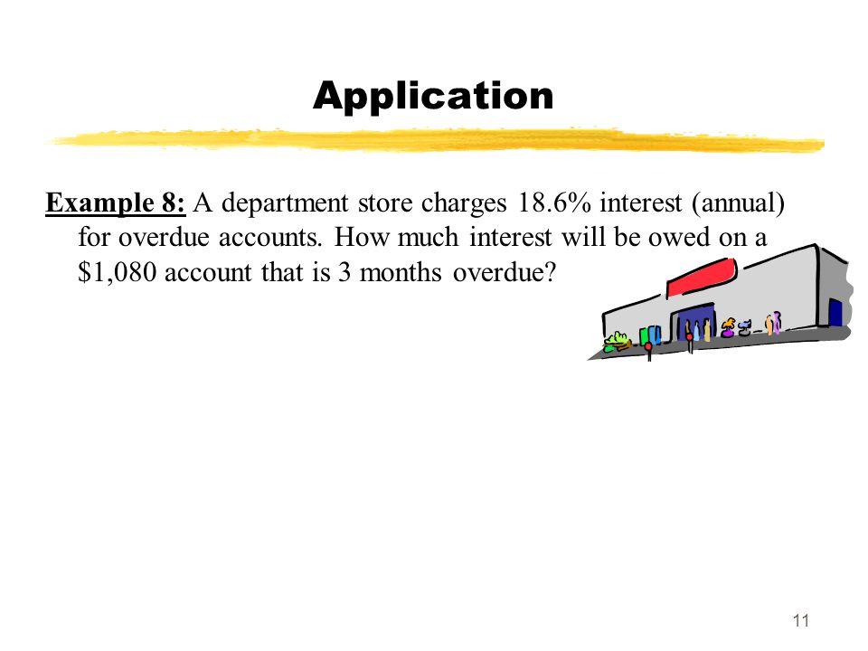 MAT 103 SPRING 2009 Application.