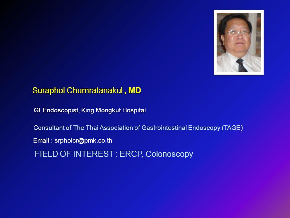 Suraphol Churnratanakul , MD
