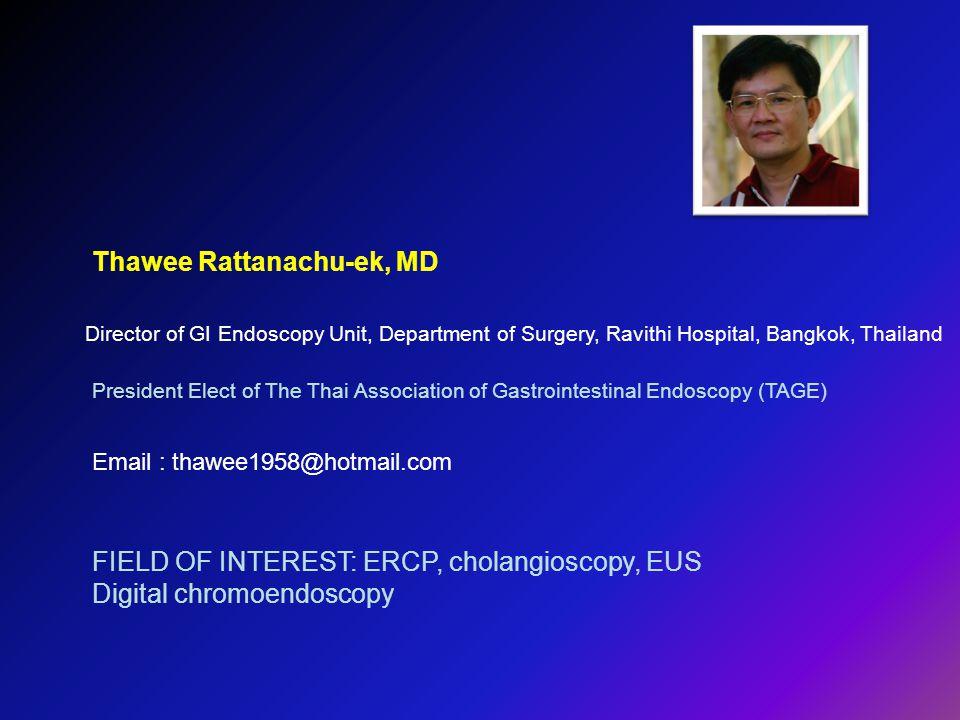 Thawee Rattanachu-ek, MD