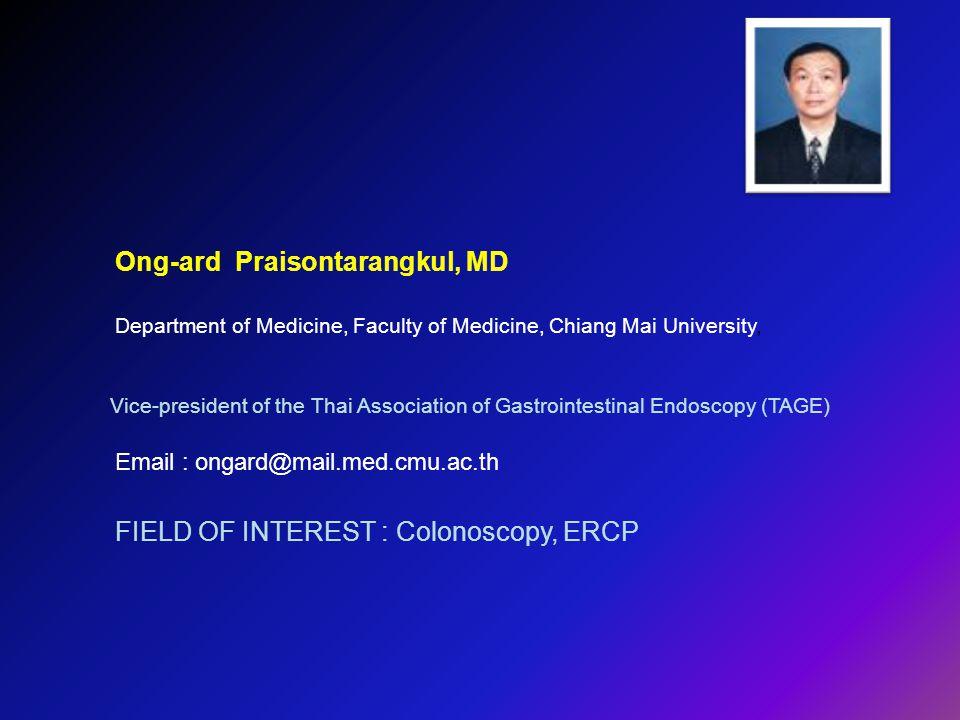 Ong-ard Praisontarangkul, MD