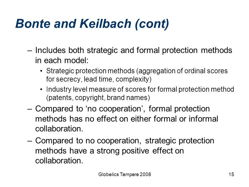 Bonte and Keilbach (cont)