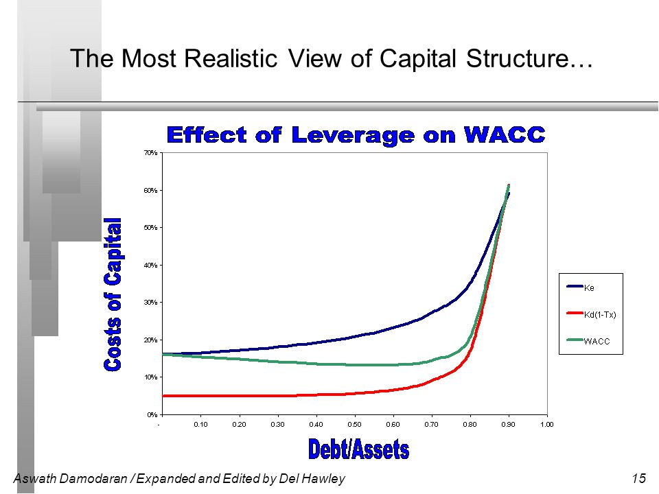 The Most Realistic View of Capital Structure…