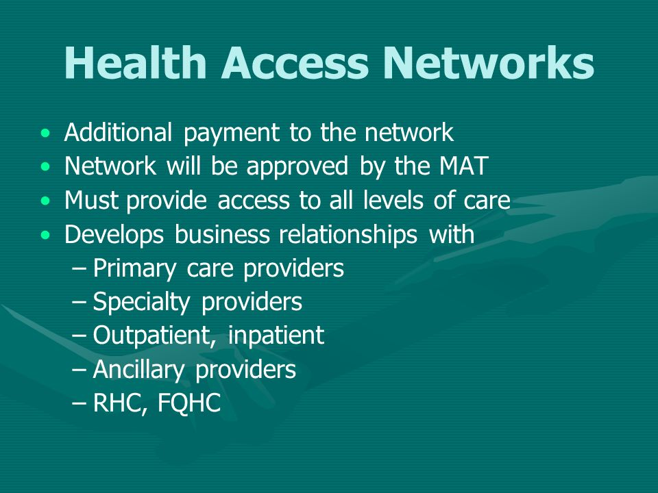 Health Access Networks