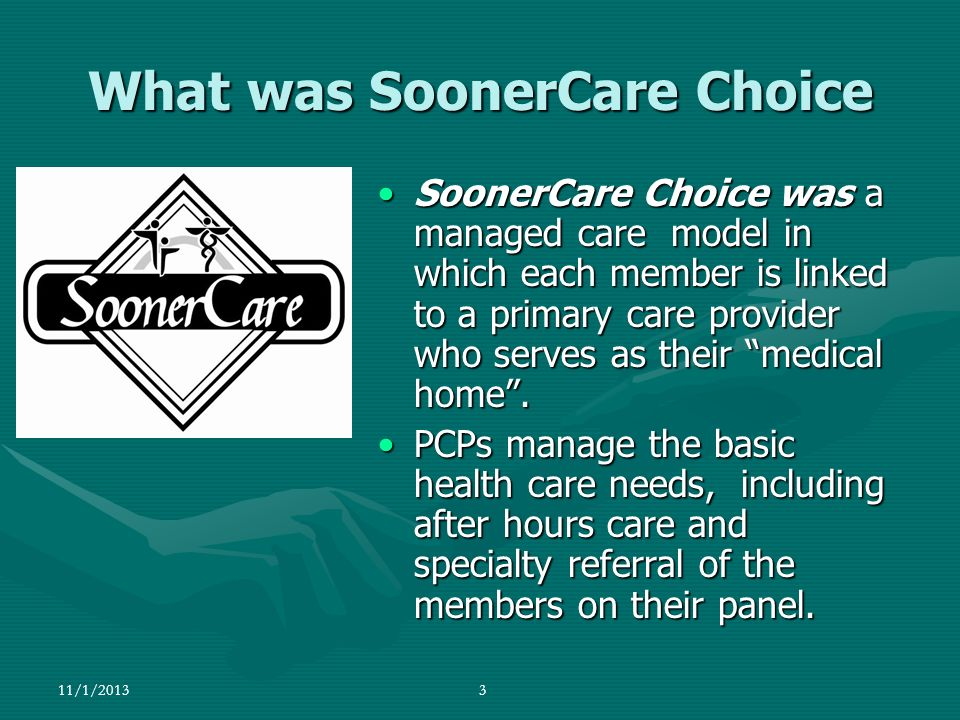 What was SoonerCare Choice
