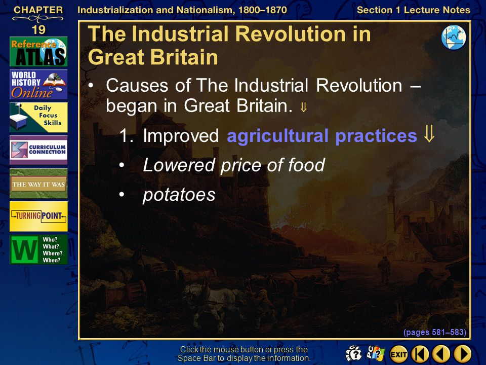 The Industrial Revolution in Great Britain