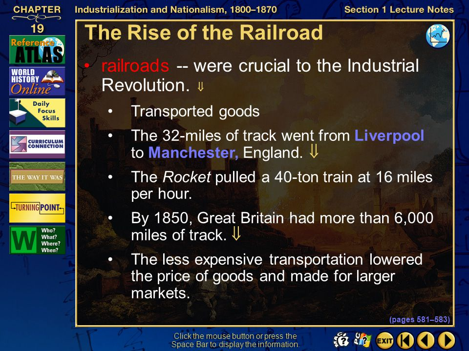 The Rise of the Railroad
