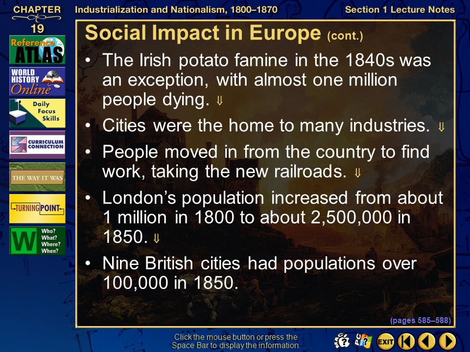 Social Impact in Europe (cont.)