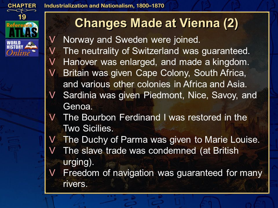 Changes Made at Vienna (2)