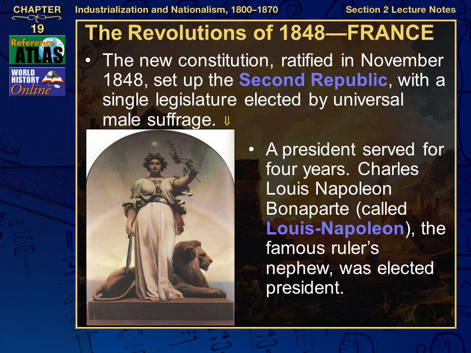 The Revolutions of 1848—FRANCE
