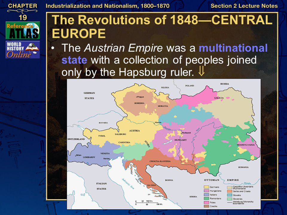 The Revolutions of 1848—CENTRAL EUROPE