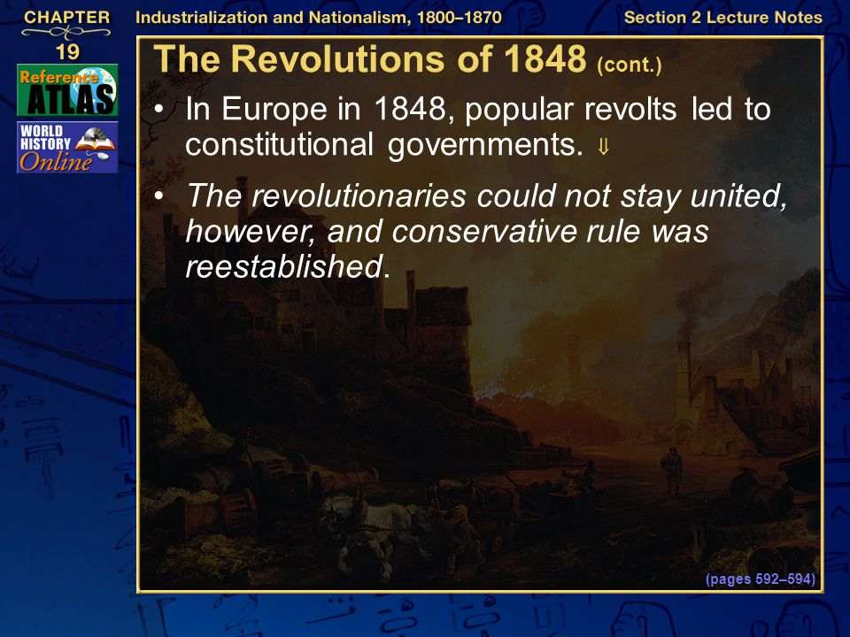 The Revolutions of 1848 (cont.)