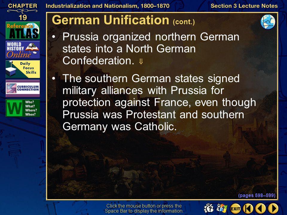 German Unification (cont.)