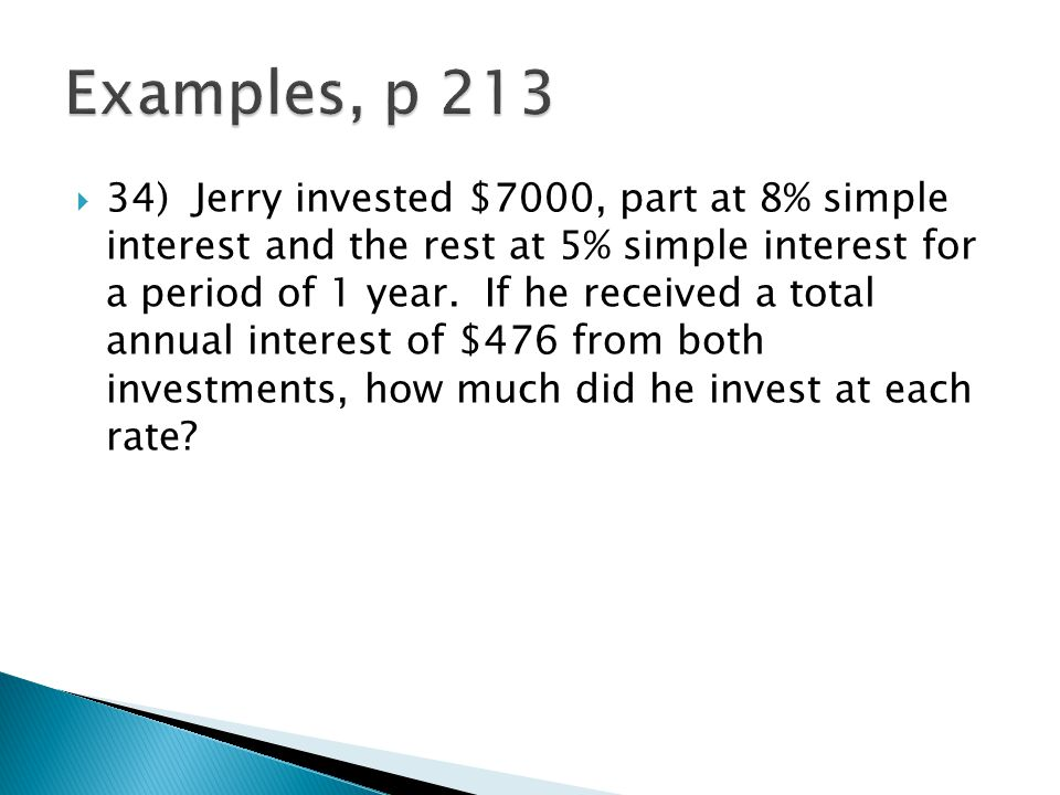 Examples, p 213