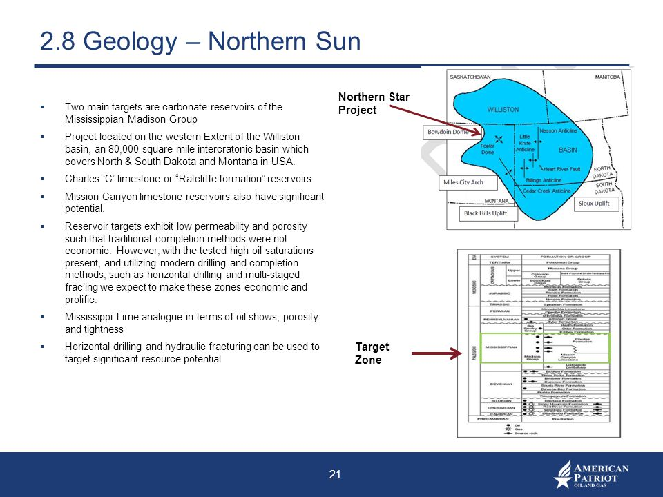 2.8 Geology – Northern Sun Northern Star Project Target Zone