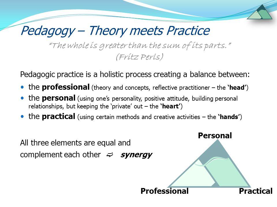 Pedagogy – Theory meets Practice