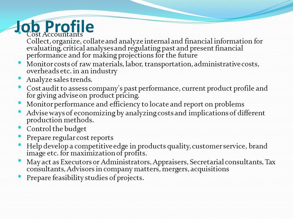 Job Profile