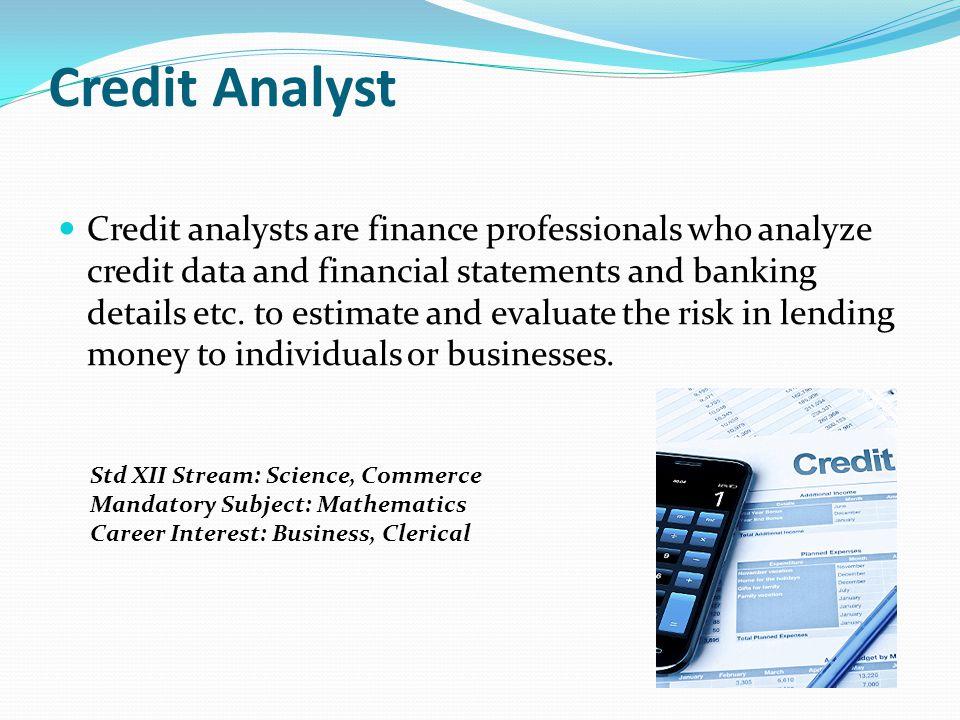Credit Analyst