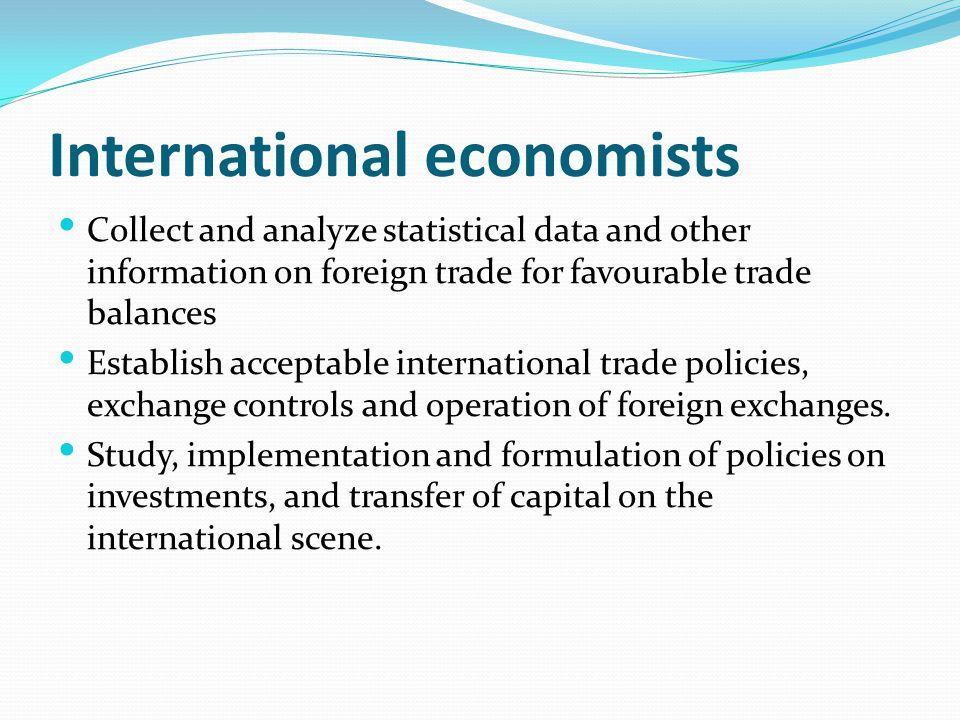 International economists