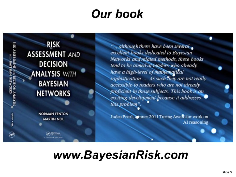 Our book www.BayesianRisk.com