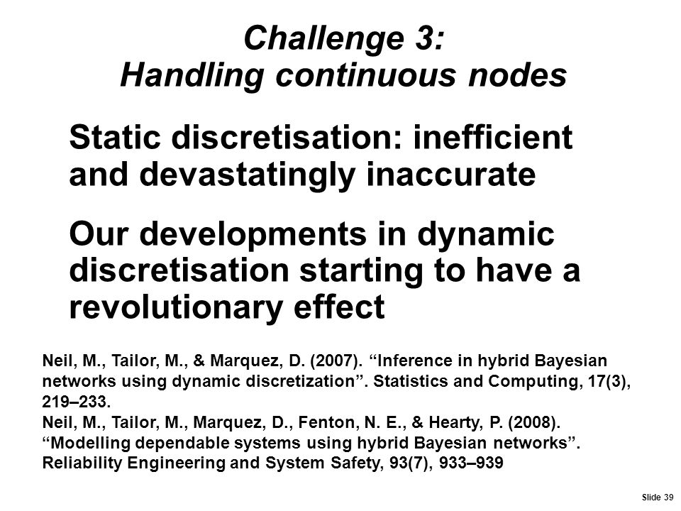 Challenge 3: Handling continuous nodes