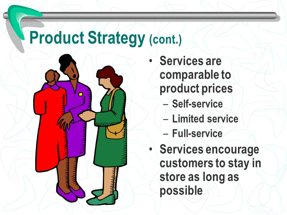 Product Strategy (cont.)