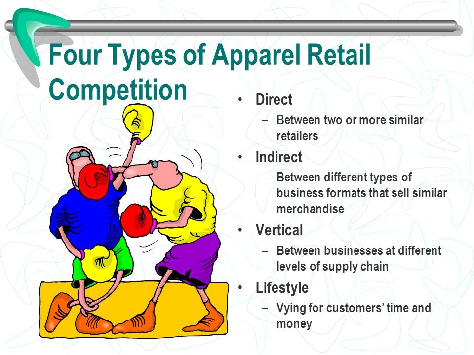 Four Types of Apparel Retail Competition