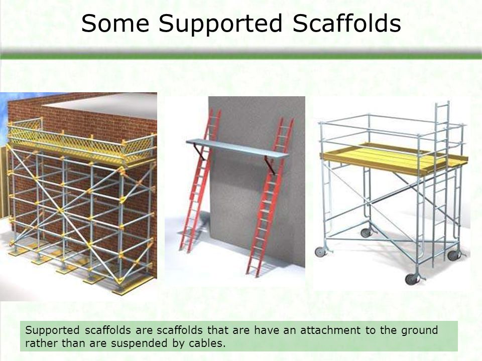 Some Supported Scaffolds