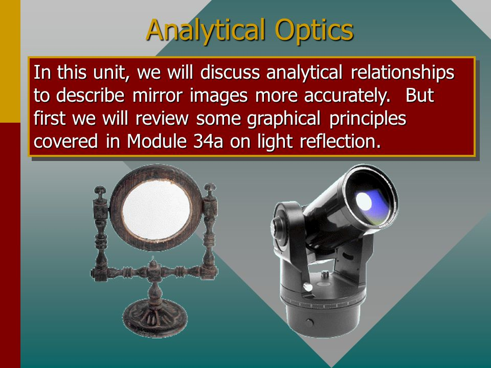 Analytical Optics