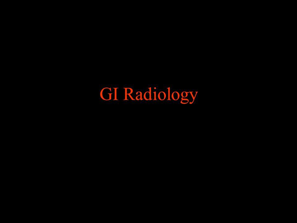 GI Radiology