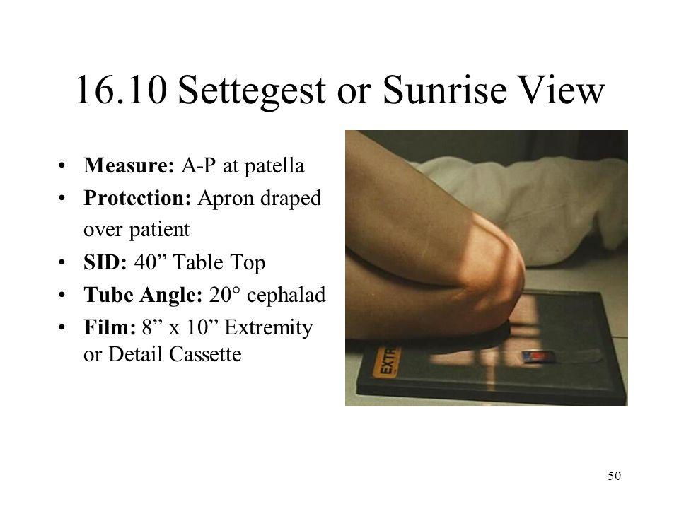 16.10 Settegest or Sunrise View