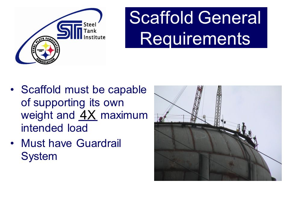Scaffold General Requirements