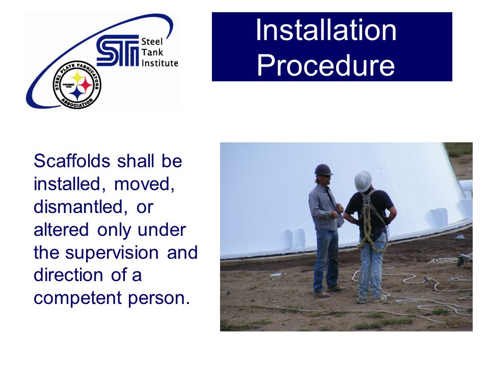 Installation Procedure