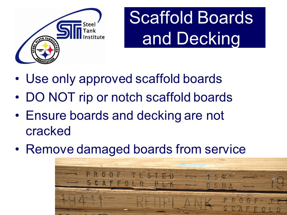 Scaffold Boards and Decking